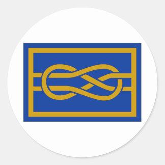 FIAV Secretary General Flag Sticker