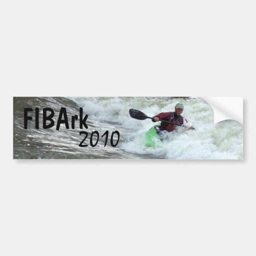 FIBArk 2010 Bumper Sticker