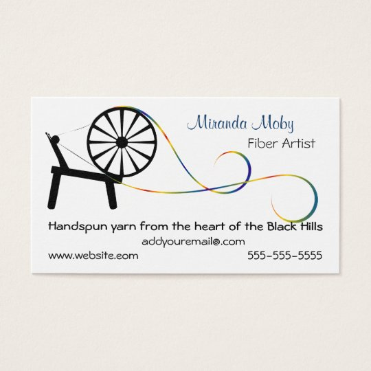 Fiber art business card or hang tag zazzle fiber art business card or hang tag reheart Gallery