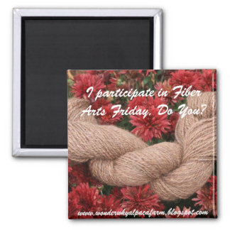 Fiber Arts Friday Magnet