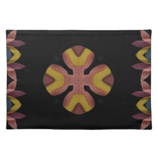 Fiber cross cloth placemat