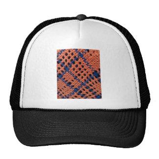 Fiber design trucker hat