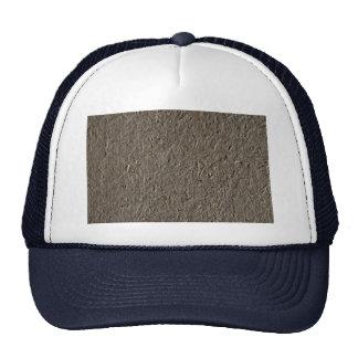 Fiber mache trucker hat