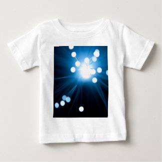 Fiber optic abstract. baby T-Shirt