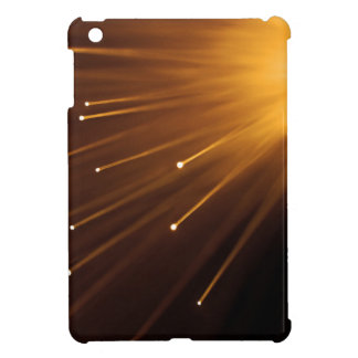 Fiber optic abstract. cover for the iPad mini