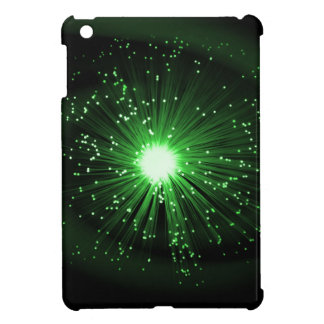Fiber optic abstract. iPad mini covers