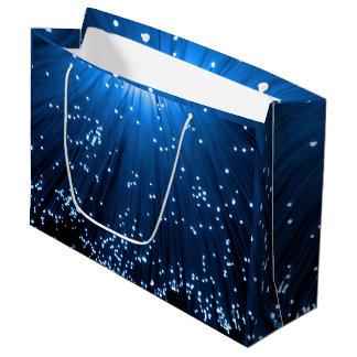 Fiber optic abstract. large gift bag