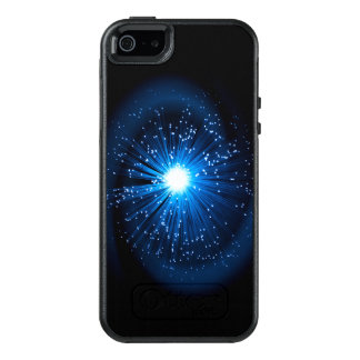Fiber optic abstract. OtterBox iPhone 5/5s/SE case