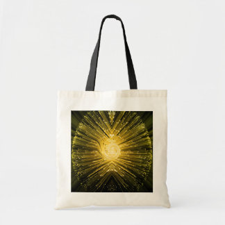 Fiber optic abstract. tote bag