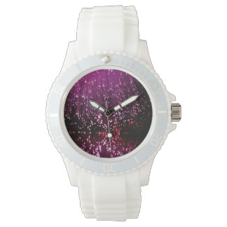 Fiber optic abstract. watches