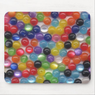 Fiber Optic Beads Mouse Pad