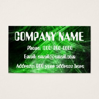 fiber optic business card