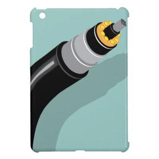 Fiber optic cable iPad mini case
