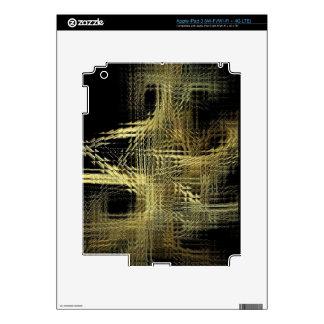Fiber Optic Glasstile iPad 3 Skins