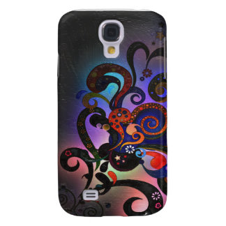 Fiber Optic Neon Light Explosion Samsung S4 Case