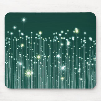 Fiber Optic Universe Mouse Pad