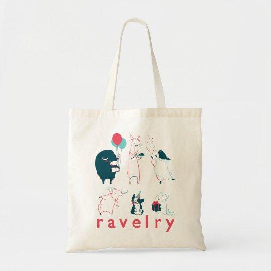 Fiber Party Animals Tote! Tote Bag