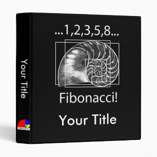 Fibonacci! 3 Ring Binder