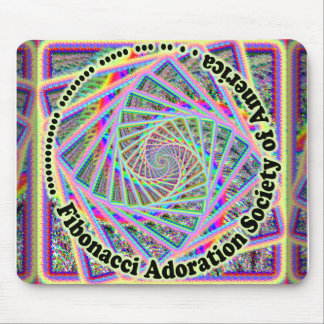 Fibonacci Adoration Society of America mousepad