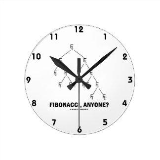 Fibonacci, Anyone? (Fibonacci Lattice) Clocks
