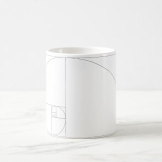Fibonacci_Blocks Classic White Coffee Mug