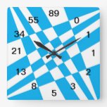 Fibonacci Clock w/numbers