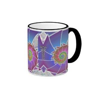 Fibonacci Coffee Cup Ringer Coffee Mug