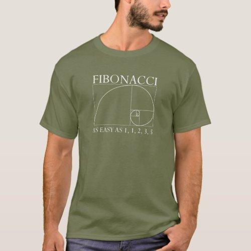 Fibonacci _ Dark T_Shirt
