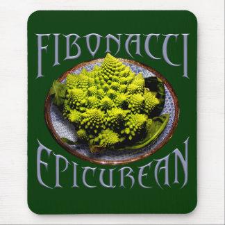 Fibonacci Epicurean Mouse Pad