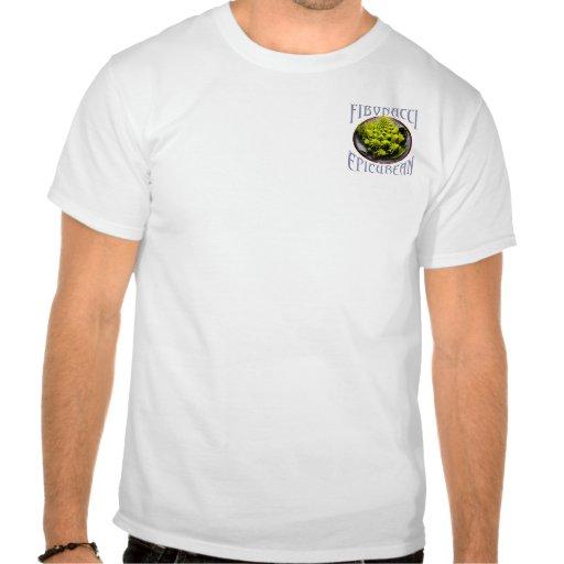 Fibonacci epicúreo tshirts