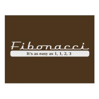 Fibonacci… Es tan fácil como 1, 1, 2, 3 Postales