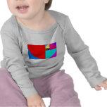 Fibonacci espiral camiseta