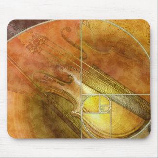 Fibonacci Fiddle Mouse Pad