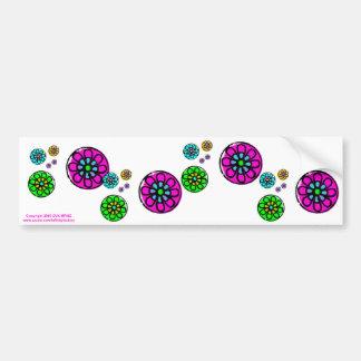 Fibonacci Flower Power Bumper Sticker
