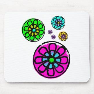 Fibonacci Flower Power Mousepads