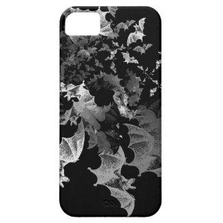 Fibonacci golpea negro iPhone 5 cárcasa