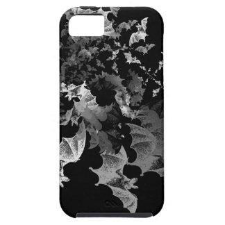 Fibonacci golpea negro iPhone 5 protectores