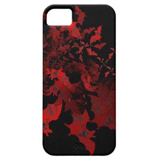 Fibonacci golpea rojo iPhone 5 carcasa