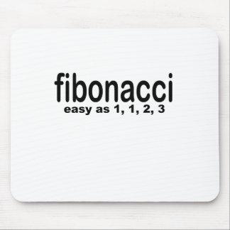 fibonacci is easy png mouse pad