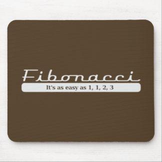 fibonacci It s as easy as 1 1 2 3 Mouse Pads