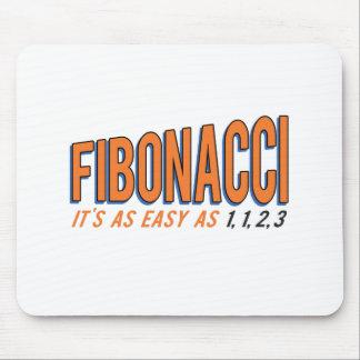 Fibonacci It's as Easy as 1, 1, 2, 3 Mouse Pad