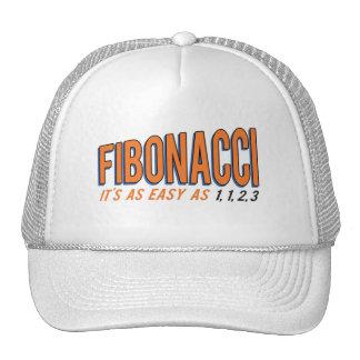Fibonacci It's as Easy as 1, 1, 2, 3 Trucker Hat