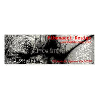 Fibonacci Mini Business Card