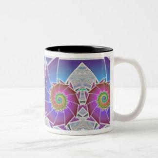 Fibonacci Rainbow Spiral Mug