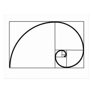 Fibonacci Ratio Postcard