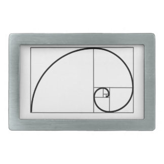 Fibonacci Ratio Rectangular Belt Buckle