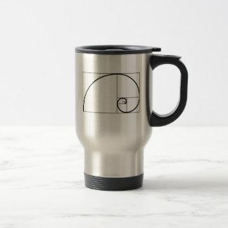 Fibonacci Ratio Travel Mug