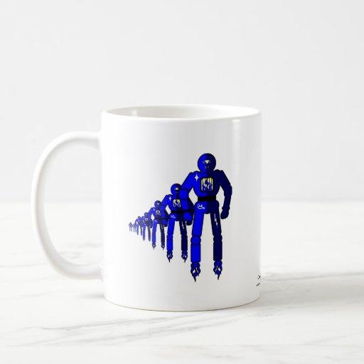 Fibonacci Robots Mug