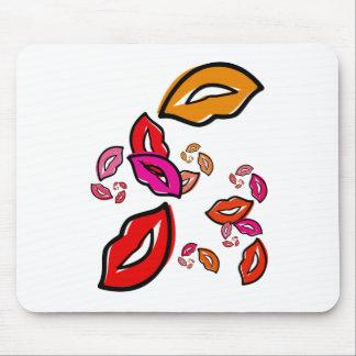 Fibonacci s Lips Mousepad