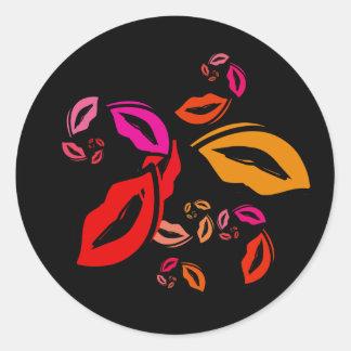 Fibonacci s Lips Sticker